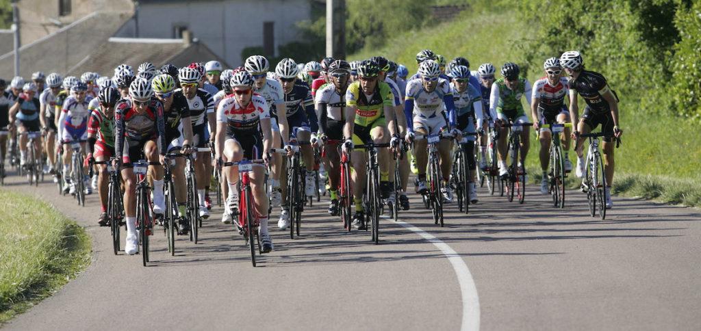 Peleton cyclistes